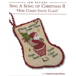 Sing a Song of Christmas II Here Comes Santa Claus JBW Designs