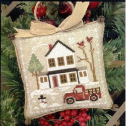 FARMHOUSE CHRISTMAS GRANDPAS PICKUP Little House Needleworks