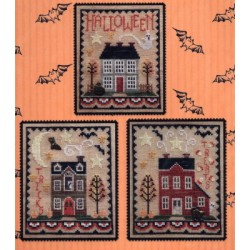 HALLOWEEN HOUSE TRIO CHART 175 Waxing Moon Designs