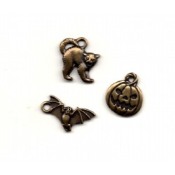 HALLOWEEN HOUSE TRIO CHARM PACK Waxing Moon Designs