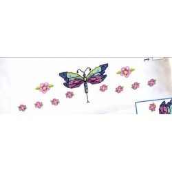 DRAGONFLY PILLOWCASE PAIR stamped 021-1774
