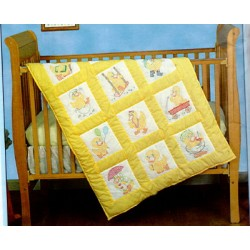 Baby Ducks 30081 nursery quilt blocks