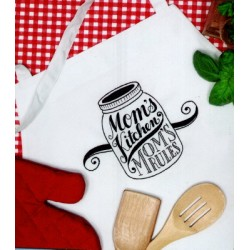 Moms Kitchen Apron stamped 7274128