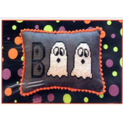GHOSTLY BOO Needle Bling Designs