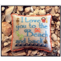 TO THE BEACH AND BACK Needle Bling Designs