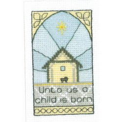 GREETINGS CARDS A CHILD IS BORN Heritage Crafts