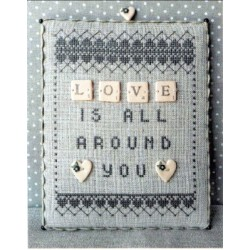 LOVE w/buttons Puntini Puntini