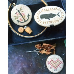 NANTUCKET SEWING SET Stacy Nash Primitives