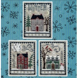 WINTER HOUSE TRIO Waxing Moon Designs