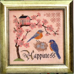 BLUEBIRD OF HAPPINESS Cottage Garden Samplings
