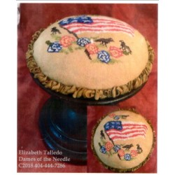 AMERICANA BIRDS AND FLOWERS PIN CUSHION Dames of the Needle