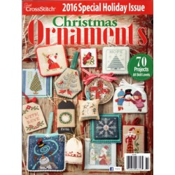 Just Cross Stitch Ornaments Winter 2016