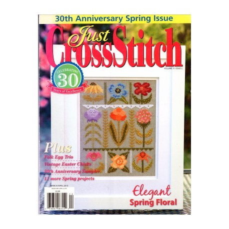 Just Cross Stitch March 2013