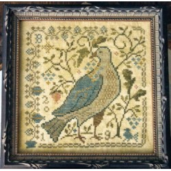 THE LAST RIPE BERRIES LOOSE FEATHERS SERIES FOR THE BIRDS 9 Blackbird Designs