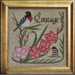THE SONGBIRDS GARDEN SERIES 8 HAVE COURAGE Cottage Garden Samplings