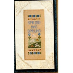 SPRING HAS SPRUNG Country Cottage Needleworks