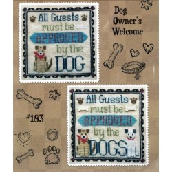 DOG OWNERS WELCOME Waxing Moon Designs