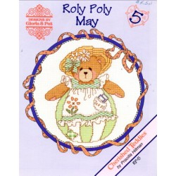 CHERISHED TEDDIES ROLY POLY MAY Designs by Gloria and Pat