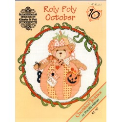 CHERISHED TEDDIES ROLY POLY OCTOBER Designs by Gloria and Pat