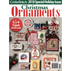 JUST CROSS STITCH ORNAMENTS WINTER 2018 Just Cross Stitch