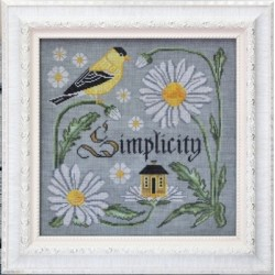 THE SONGBIRDS GARDEN SERIES THERE IS BEAUTY IN SIMPLICITY Cottage Garden