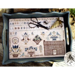 PRAIRIE HOUSE SAMPLER With Thy Needle and Thread