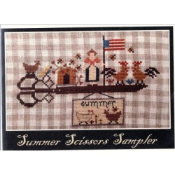 SUMMER SCISSORS SAMPLER Nikyscreations