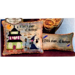 I STITCH ALONE AT MIDNIGHT Abby Rose Designs