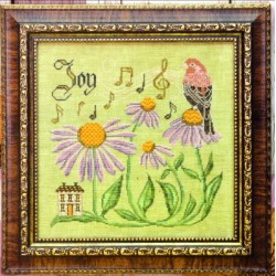 THE SONGBIRDS GARDEN SERIES TEN SING FOR JOY Cottage Garden