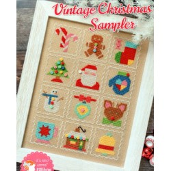 VINTAGE CHRISTMAS SAMPLER It's Sew Emma Stitchery