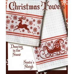 CHRISTMAS TOWELS Stoney Creek Collection