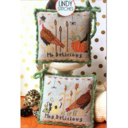 MR AND MRS DELICIOUS Lindy Stitches