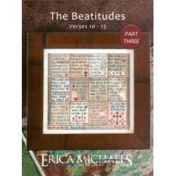 THE BEATITUDES VERSES 10-13 PART THREE Erica Michaels Needleart Designs