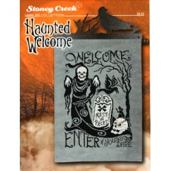 HAUNTED WELCOME Stoney Creek Collection