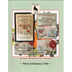 PIECES OF INNOCENCE 1840 Cross Stitch Antiques
