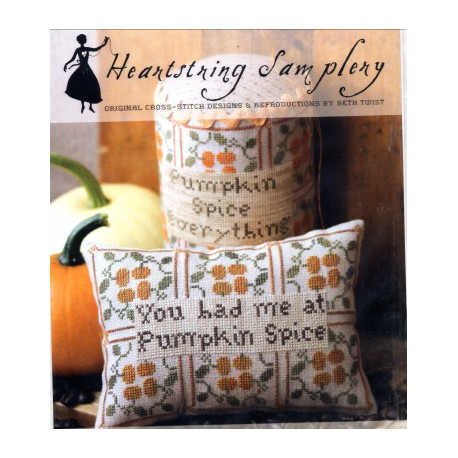 YOU HAD ME AT PUMPKIN SPICE Heartstring Samplery