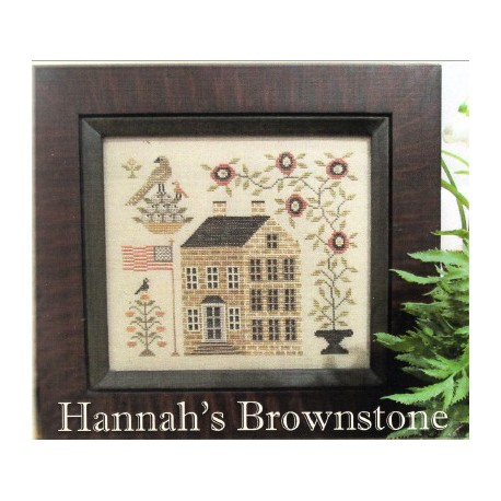 HANNAHS BROWNSTONE The Scarlett House