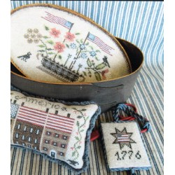 PATRIOTIC SHAKER BOX SET The Scarlett House