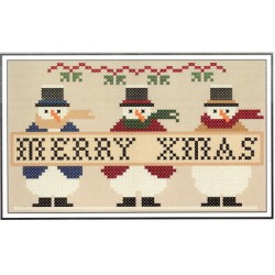 SNOWMAN TRIO XMAS Twin Peak Primitives