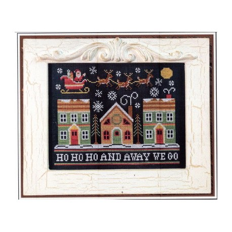 AWAY WE GO Country Cottage Needleworks