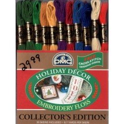 HOLIDAY COLLECTORS EDITION FLOSS DMC