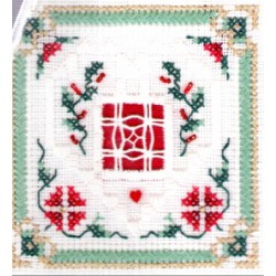 BeYOND CROSS STITCH LEVEL SIX 5 DOVES COTE Victoria Sampler