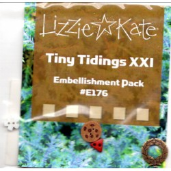 Tiny Tidings XXI E176 Embellishment Pack