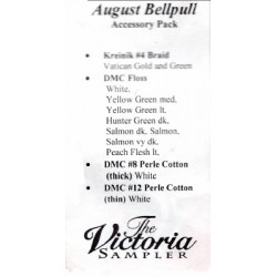 August Bellpull Accessory Pack 4308P The Victoria Sampler