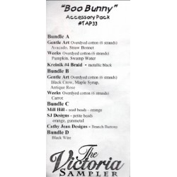 Boo Bunny Accessory Pack TAP33 The Victoria Sampler