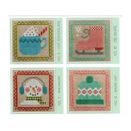 STITCH CARDS SET C Lori Holt