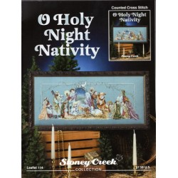 O HOLY NIGHT NATIVITY Stoney Creek Collection