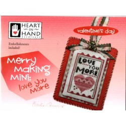 MERRY MAKING MINI LOVE YOU MORE Heart in Hand