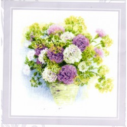 WATERCOLOR CARNATIONS Riolis