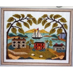 MOUNTAIN VIEW BAY By The Bay Needleart